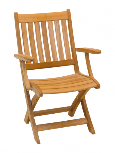 Royal Teak - Alexia folding armchair
